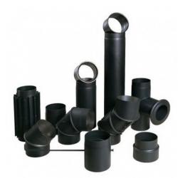 Дымоходы стальные черные 2мм.