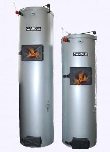 Твердотопливный котел длительного горения Candle 18 kw