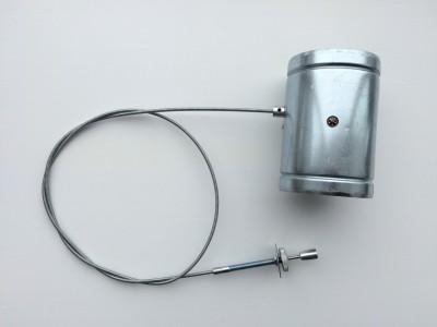 Дроссельная заслонка с уплотнителем для притока воздуха в камин Ф100/125/150