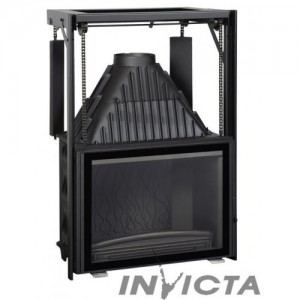 Чугунная топка INVICTA Grand Angle 800 RELEVABLE