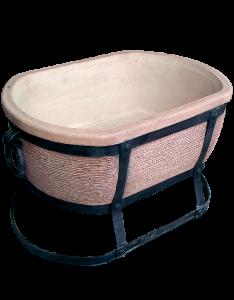 Мангал керамический (овальный)